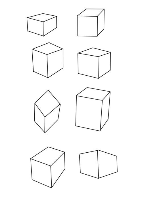 間違った立方体